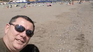 manuel sanchez, la playa